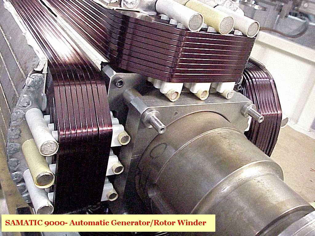 Welcome To Samatic Automatic Motor Winding Machines And